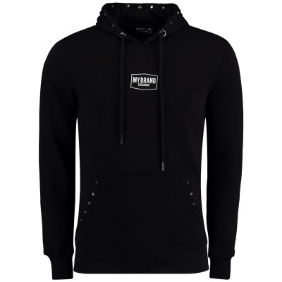 Picture of My Brand MMBHO011G3025 mens sweater black