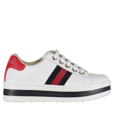 Afbeelding van Gucci 526158 kindersneakers wit