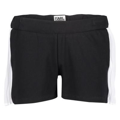 Afbeelding van Karl Lagerfeld Z14096 kinder shorts zwart