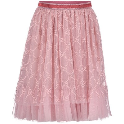 Picture of Gucci 552450 kids skirt light pink