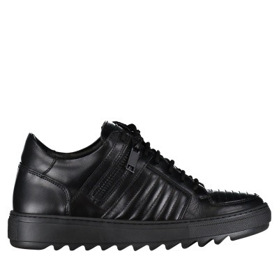 Afbeelding van Antony Morato MMFW01041 heren sneakers zwart