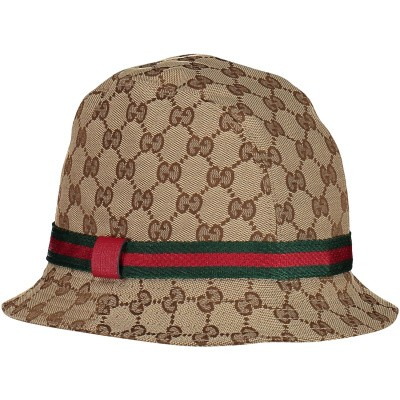 Picture of Gucci 411790 kids cap brown