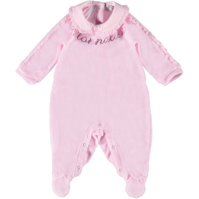 Picture of MonnaLisa 35CTUG baby playsuit light pink