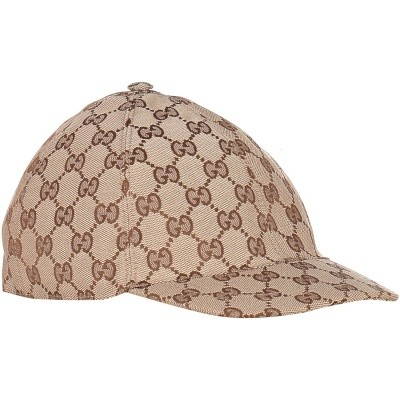 Picture of Gucci 481774 kids cap brown