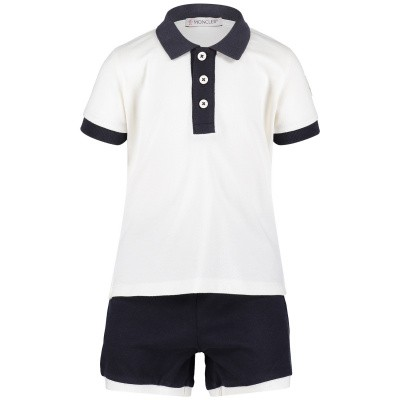 Picture of Moncler 8812350 baby set off white
