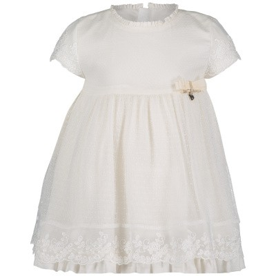 Picture of Mayoral 1825 baby dress ecru
