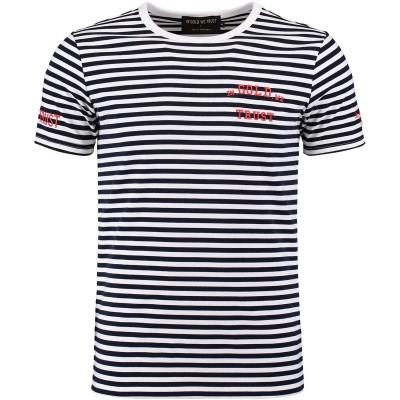 Afbeelding van in Gold We Trust FA059 heren t-shirt navy