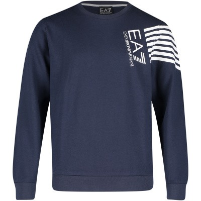 Picture of EA7 3GBM60 kids sweater navy