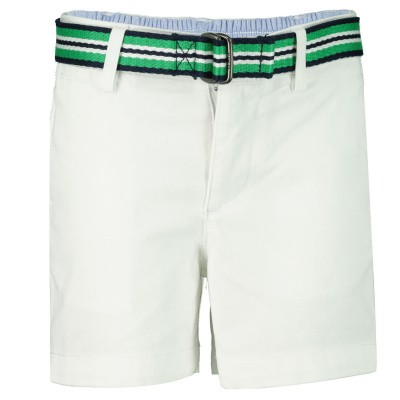 Picture of Ralph Lauren 736965B baby shorts white
