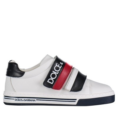 Picture of Dolce & Gabbana DA0654 kids sneakers white