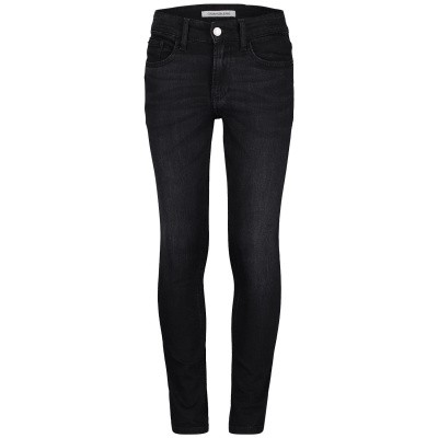 Picture of Calvin Klein IB0IB00001 kids jeans black