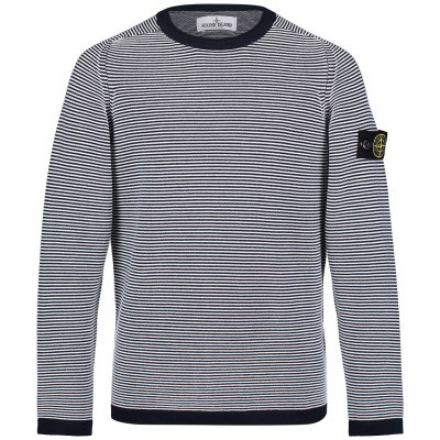 Picture of Stone Island 7016511A5 kids sweater navy