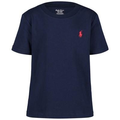 Picture of Ralph Lauren 674984 baby shirt navy