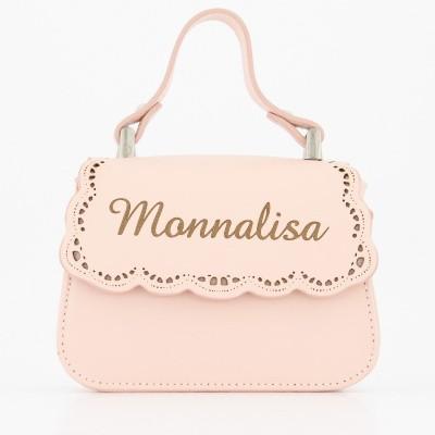 Afbeelding van MonnaLisa 17CBAP kindertas licht roze