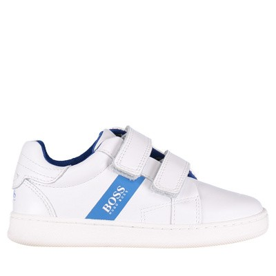 Picture of Boss J09E02 kids sneakers white