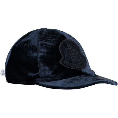 Picture of Moncler 0087400 kids cap navy
