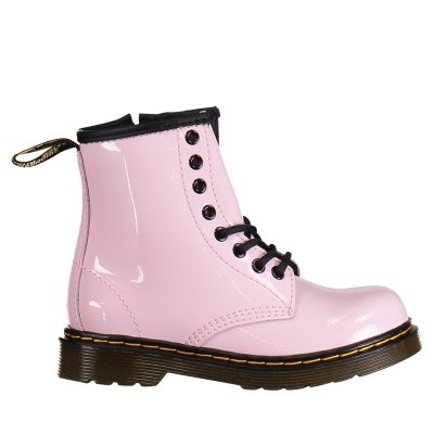 Picture of Dr. Martens 22257688 kids boots light pink