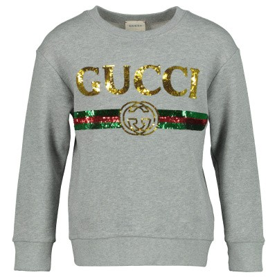 Picture of Gucci 561658 kids sweater grey