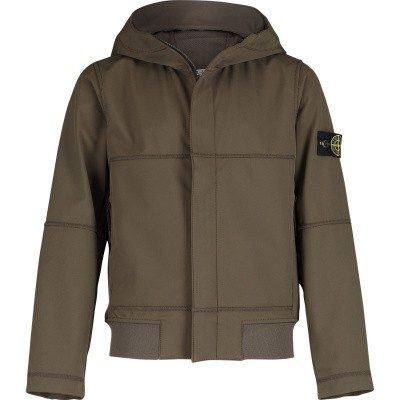 Picture of Stone Island 701640234 kids jacket army