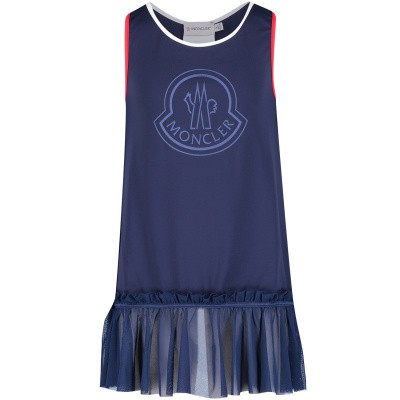 Picture of Moncler 0078705 kids dress navy