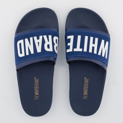 Picture of The White Brand L0191 kids flipflops navy