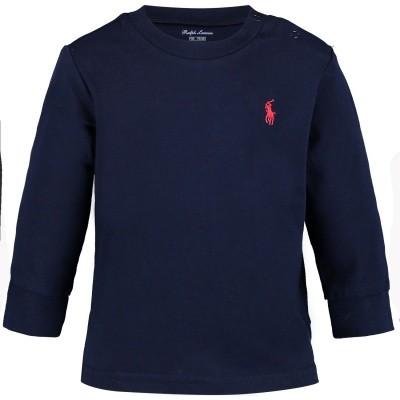 Picture of Ralph Lauren 320703642 baby shirt navy