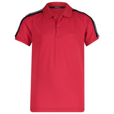 Picture of Airforce B0563 kids polo shirt red