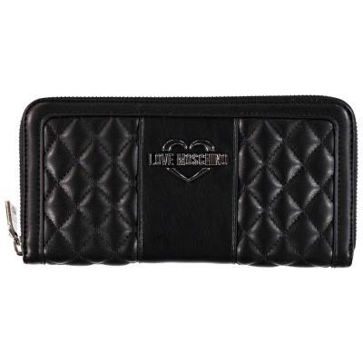 Afbeelding van Moschino JC5573 dames portemonnee zwart
