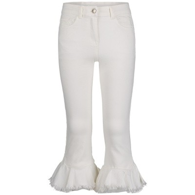 Picture of MonnaLisa 793401R3 kids jeans off white