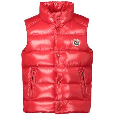 Afbeelding van Moncler 4332905 baby bodywarmer rood