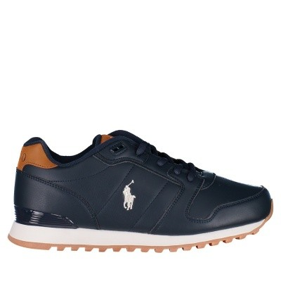 Picture of Ralph Lauren RF101173 kids sneakers navy