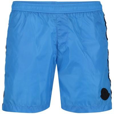 Afbeelding van Moncler MO0074305 kinder zwemkleding blauw