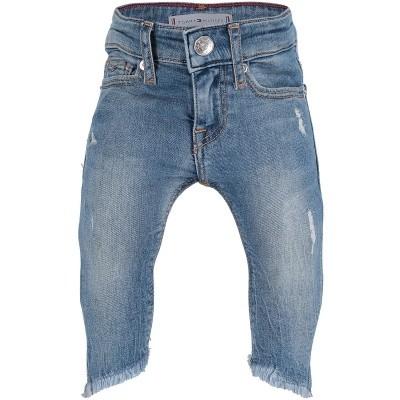 Afbeelding van Tommy Hilfiger KG0KG03892B babybroekje jeans