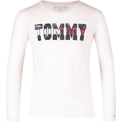 Afbeelding van Tommy Hilfiger KG0KG03872 kinder t-shirt wit
