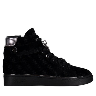 Picture of Guess FLXG24FAL12 womens sneakers black