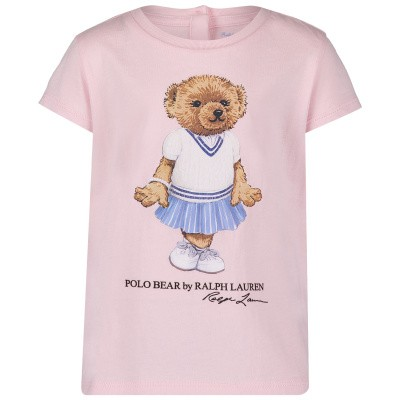 Picture of Ralph Lauren 743484 baby shirt light pink