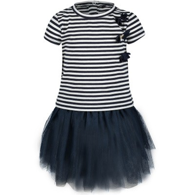 Picture of Liu Jo H19049 baby set navy