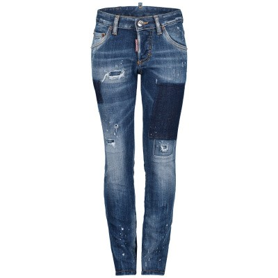 Picture of Dsquared2 DQ01Q3 D00U0 kids jeans jeans