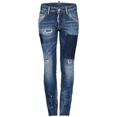 Afbeelding van Dsquared2 DQ01Q3 D00U0 kinderbroek jeans