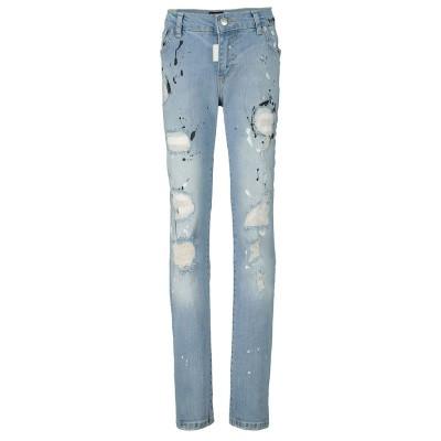 Afbeelding van My Brand BMBJE001B02 kinderbroek jeans
