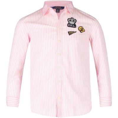 Afbeelding van Ralph Lauren 312701646 kinder overhemd roze
