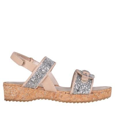 Afbeelding van Mayoral 43059 kinder sandalen zilver