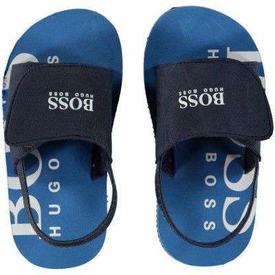 Picture of Boss J09110 kids flipflops navy