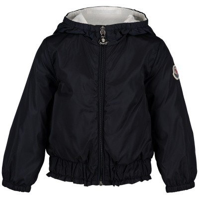 Picture of Moncler 4619205 baby coat navy
