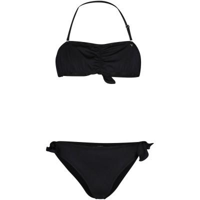 Picture of Guess J92Z04 kids swimwear black