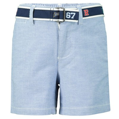 Picture of Ralph Lauren 736970 baby shorts light blue