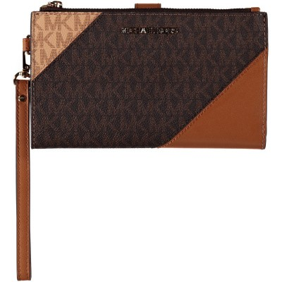 Picture of Michael Kors 32S9GFDW3B womens wallet brown