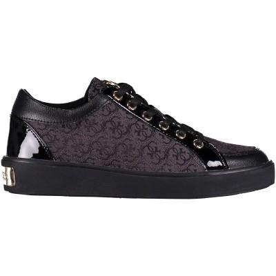Afbeelding van Guess FLGLN3FAL12 dames sneakers zwart