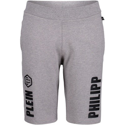 Picture of Philipp Plein BJT0186 kids shorts grey