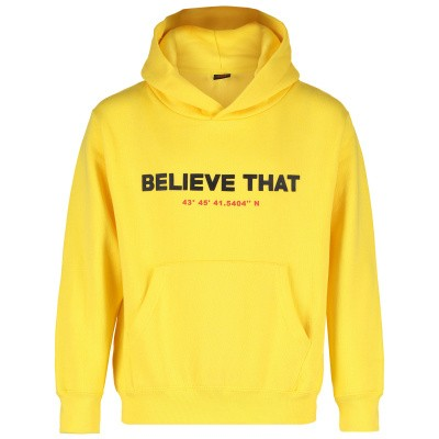 Picture of Believe That HOODIE BELIEVE THAT kids sweater yellow